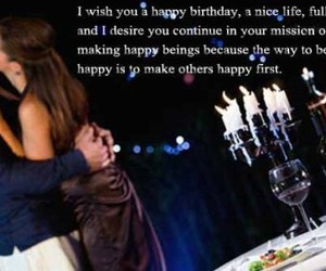 birthday, song quote, and happy birthday image