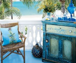amazing, ocean, and palm patio image