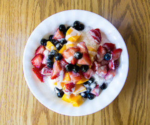 fit, fruit, and healthy image