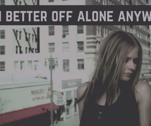 Avril Lavigne, quote, and don't tell me image