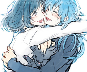 hug, dramatical murder, and bl game image