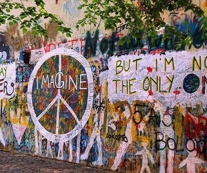city, color, and peace image
