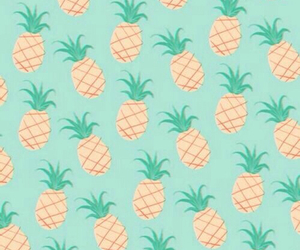 pineapple, tropical, and background image