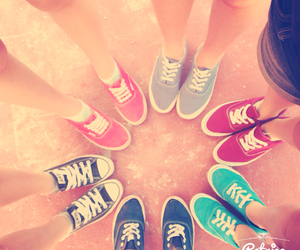 converse, summer, and friends image