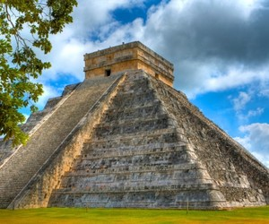 chichen itza, holiday, and mexico image