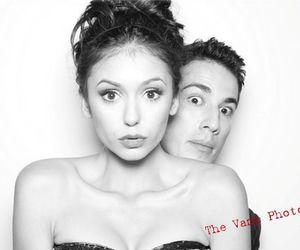 Nina Dobrev and michael trevino image