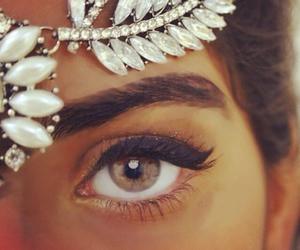 eyes, eye, and make up image