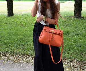 girl, orange, and marianna image