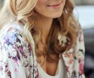 blazer, blonde, and hair image