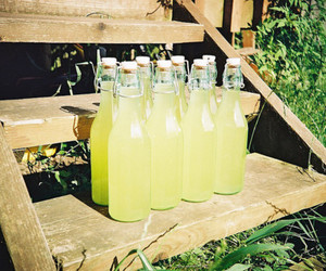 lemonade, summer, and vintage image