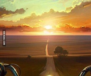 beautiful, countryside, and paradise image