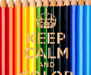 keep calm, color, and life image