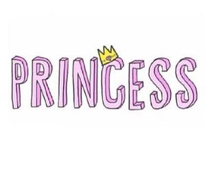 princess, overlay, and pink image