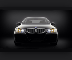 black, bmw, and car image