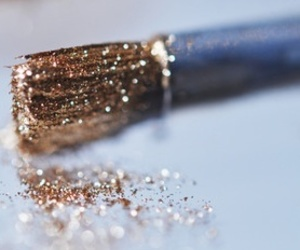 glitter, gold, and girly image