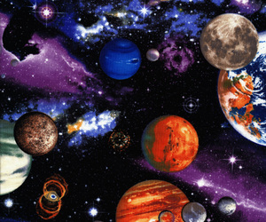 astronomy, galaxy, and illustration image