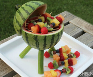 food, girly, and watermelon image