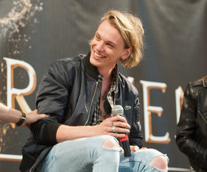 Jamie Campbell Bower, the mortal instruments, and smile image
