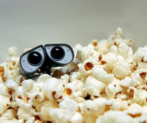 popcorn, wall-e, and disney image