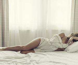 bed, Hot, and legs image