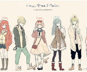 happy tree friends, anime, and cuddles image