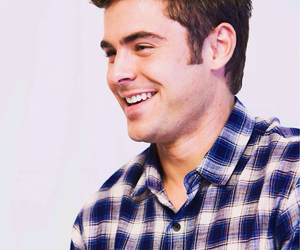 happy, smile, and zac efron image