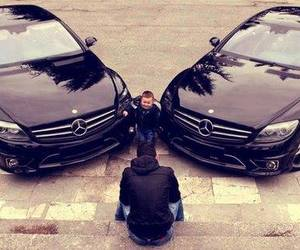 car, mercedes, and baby image