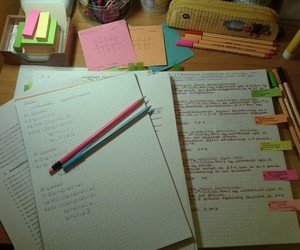 colourful, motivation, and stationary image