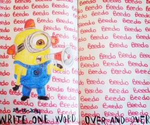 keri smith, minion, and wreck this journal image