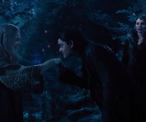 maleficent, aurora, and diaval image