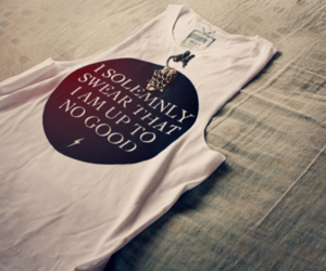 harry potter, shirt, and quote image