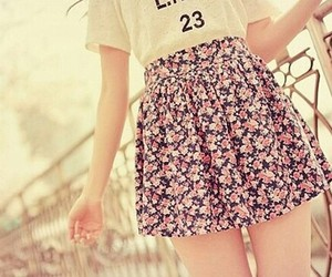 fashion, happy, and girl image
