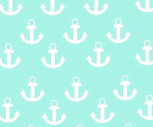 anchor, mint, and pattern image