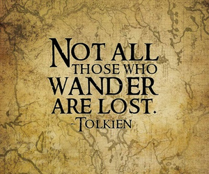 tolkien, quotes, and LOTR image