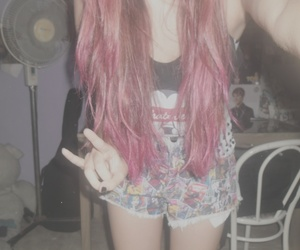 grunge and pink hair image