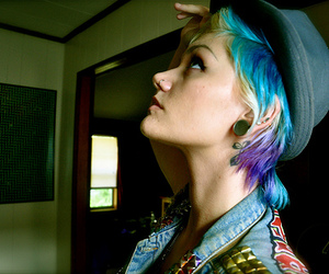 amazing, blue, and blue hair image