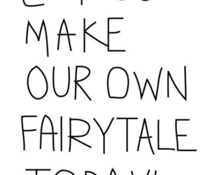 love, fairytale, and quote image