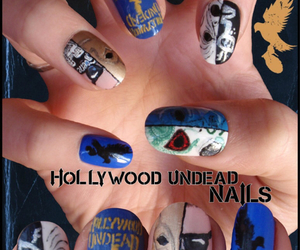 nails and hollywood undead image
