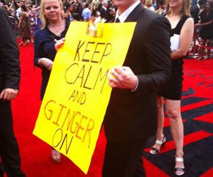 ginger, keep calm, and harry potter image