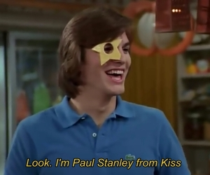 kiss, paul stanley, and funny image