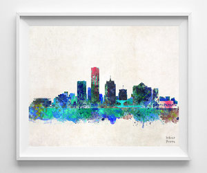 milwaukee, painting, and poster image