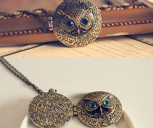 accessories, beautiful, and owl image