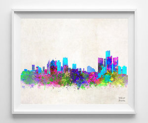 detroit, michigan, and painting image