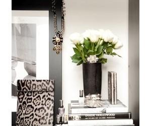 corner, decor, and grey image