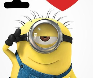 cool, minions, and peace image