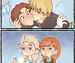 anna, bl, and frozen image
