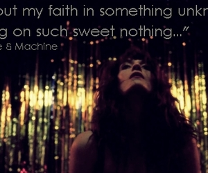florence, sweet nothing, and florenceandmachine image