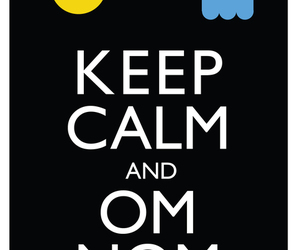 keep calm, pacman, and Pac Man image