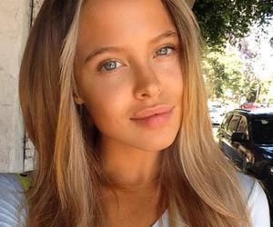eyes, girl, and lips image