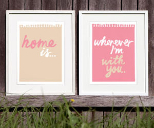 home, love, and you image